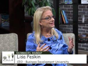 Lisa on Rain Maker's Roundup